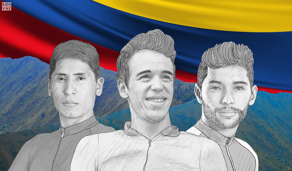 ciclistas colombia oro y paz