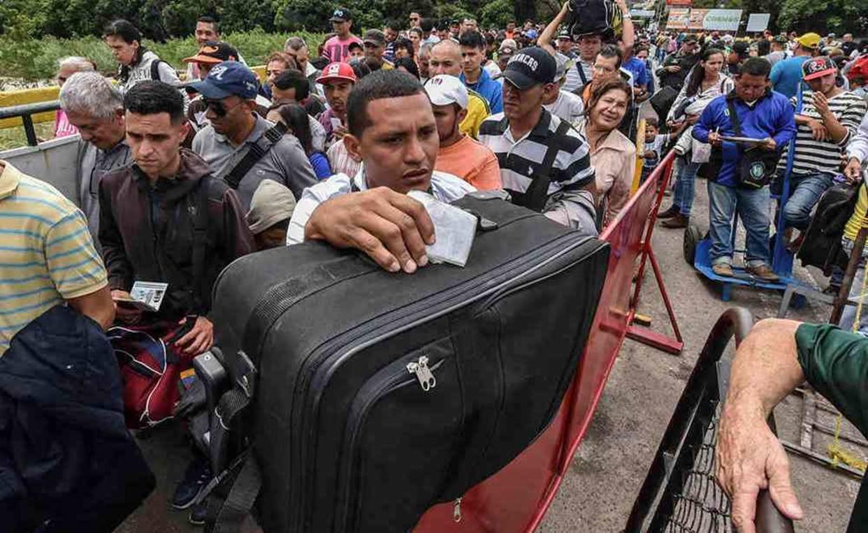 Resultado de imagen para Colombia ciudadanos venezolanos