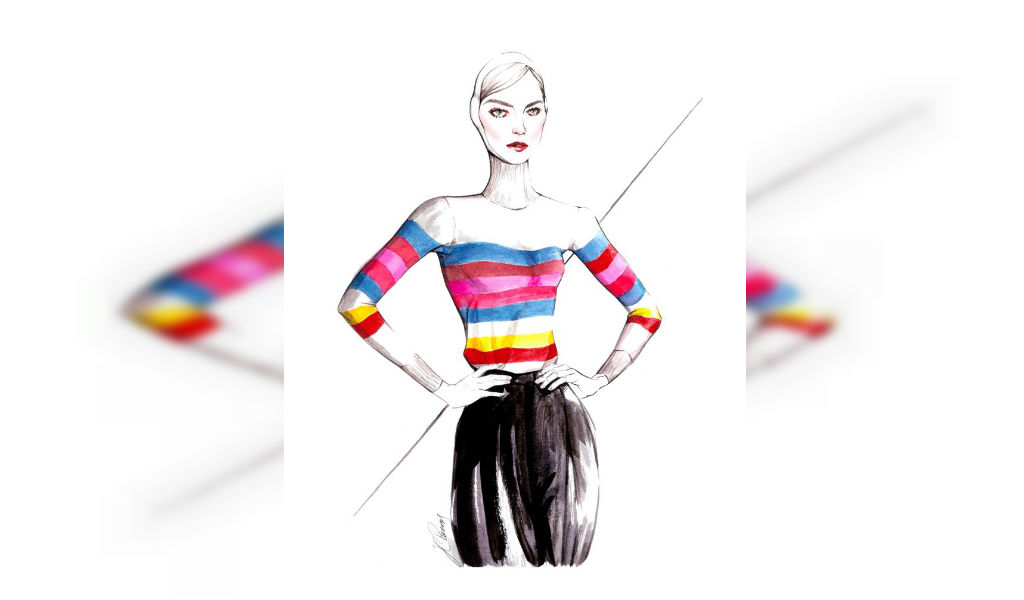 El papel de la ilustración en la moda