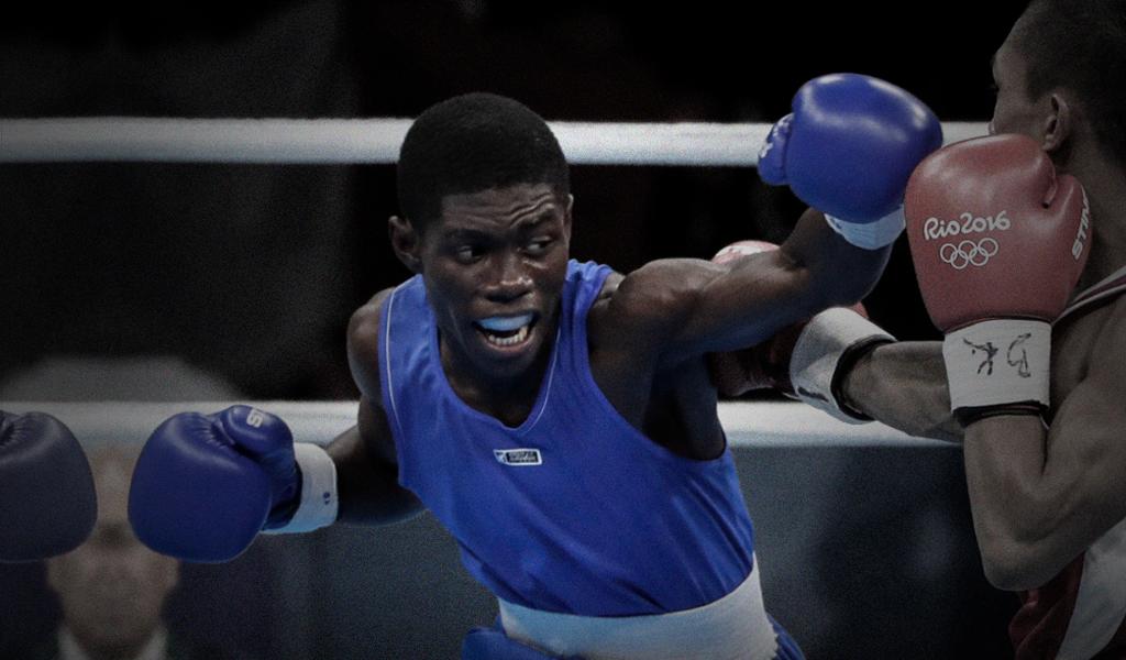 Yuberjen Martínez se alista para la Serie Mundial de Boxeo
