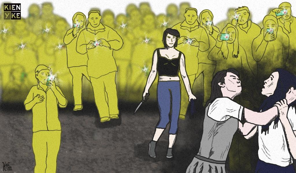 Indignación por agresión de estudiantes registrada en video