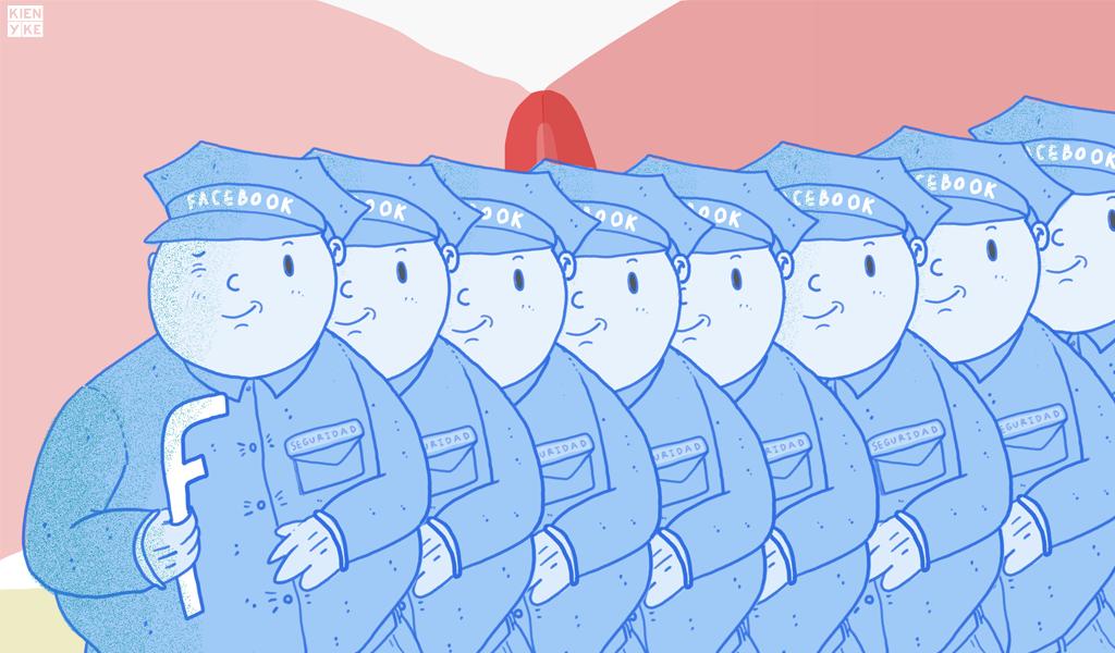 Facebook contra el acoso