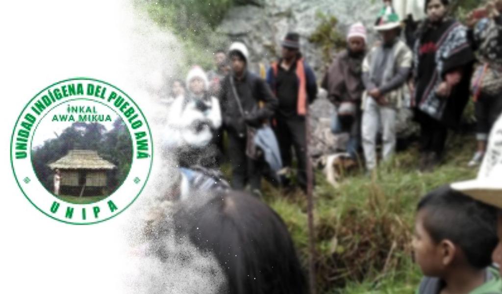 142 familias indígenas han sido desplazadas en Tumaco