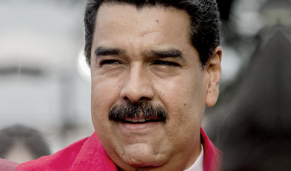 Maduro inscribió su candidatura y busca reelegirse