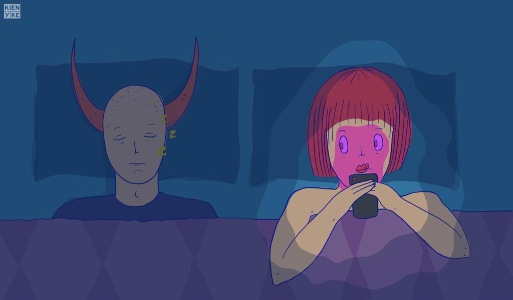 ¿Es infiel si practica sexting?