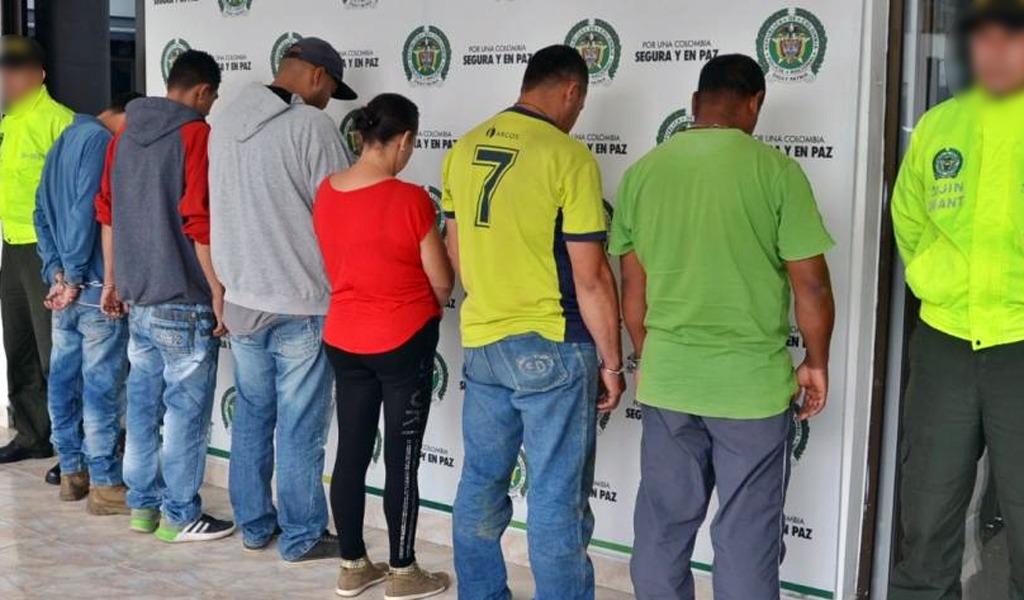 Capturados seis cabecillas del 'Clan del Golfo' en Antioquia