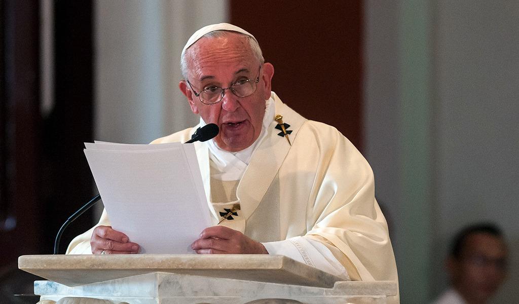 El papa Francisco y su deseo de acabar con las armas nucleares