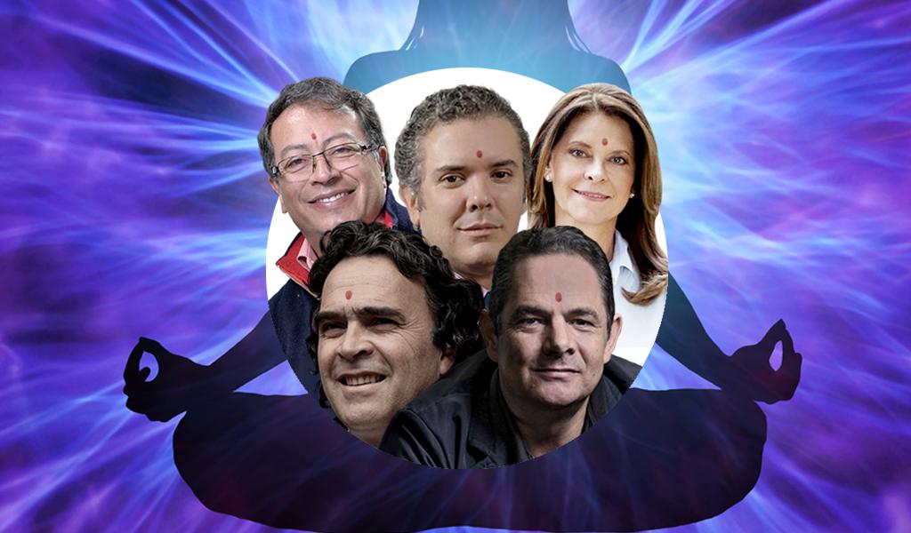 Armando Martí lee el aura de cinco candidatos presidenciales