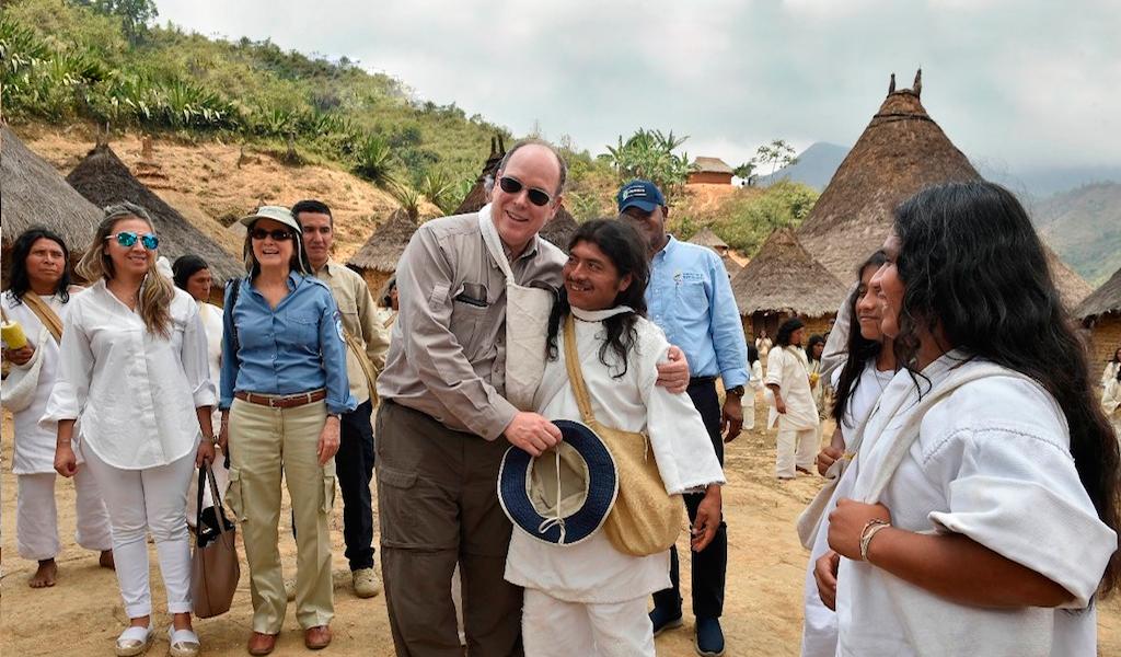 Santos y Príncipe de Mónaco visitaron la Sierra Nevada