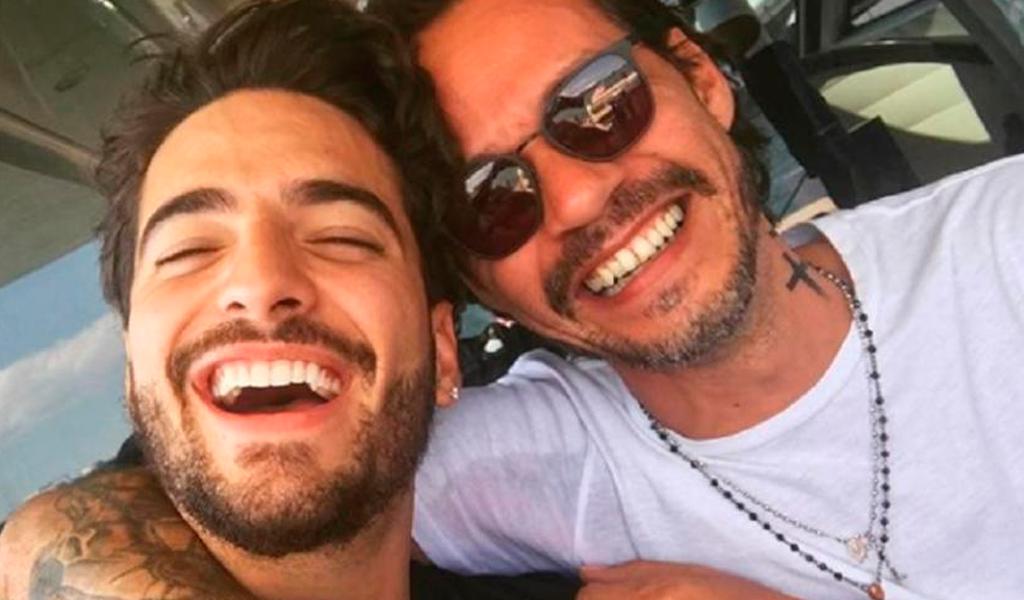 ¿Maluma Y Marc Anthony se besaron?