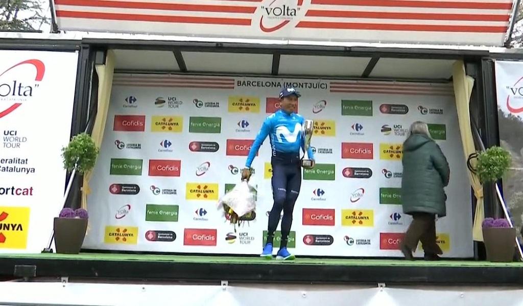 Nairo Quintana, subcampeón de la Vuelta a Cataluña