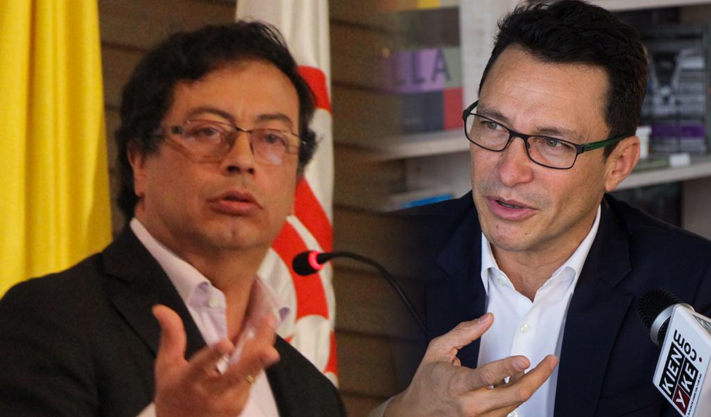 Gustavo Petro y Carlos Caicedo