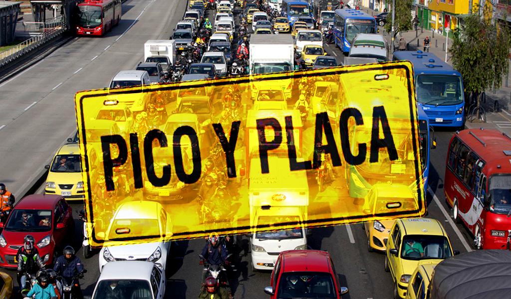 ¿Hay pico y placa en Bogotá este 24 de septiembre?