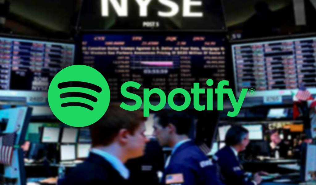 Spotify entrará a cotizar en la Bolsa de Nueva York