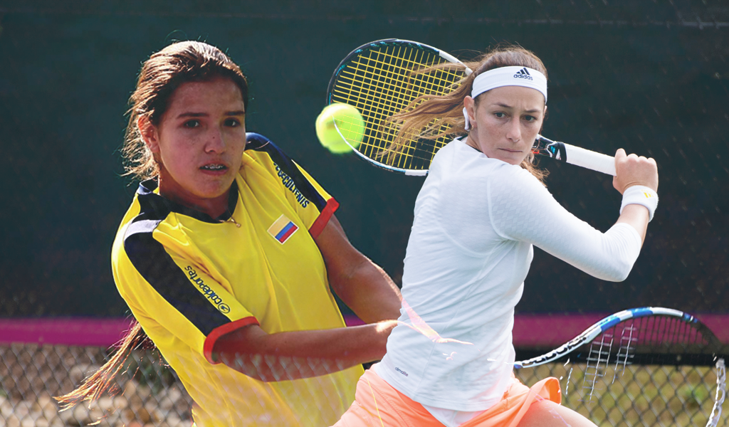 Duque y Osorio, las caras del tenis femenino