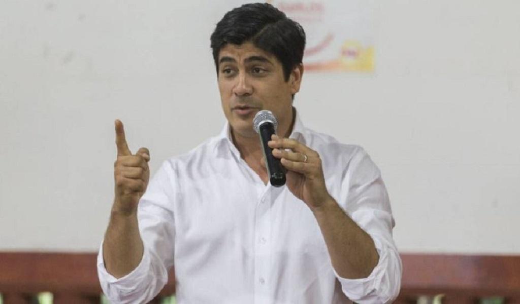 Carlos Alvarado, nuevo presidente de Costa Rica
