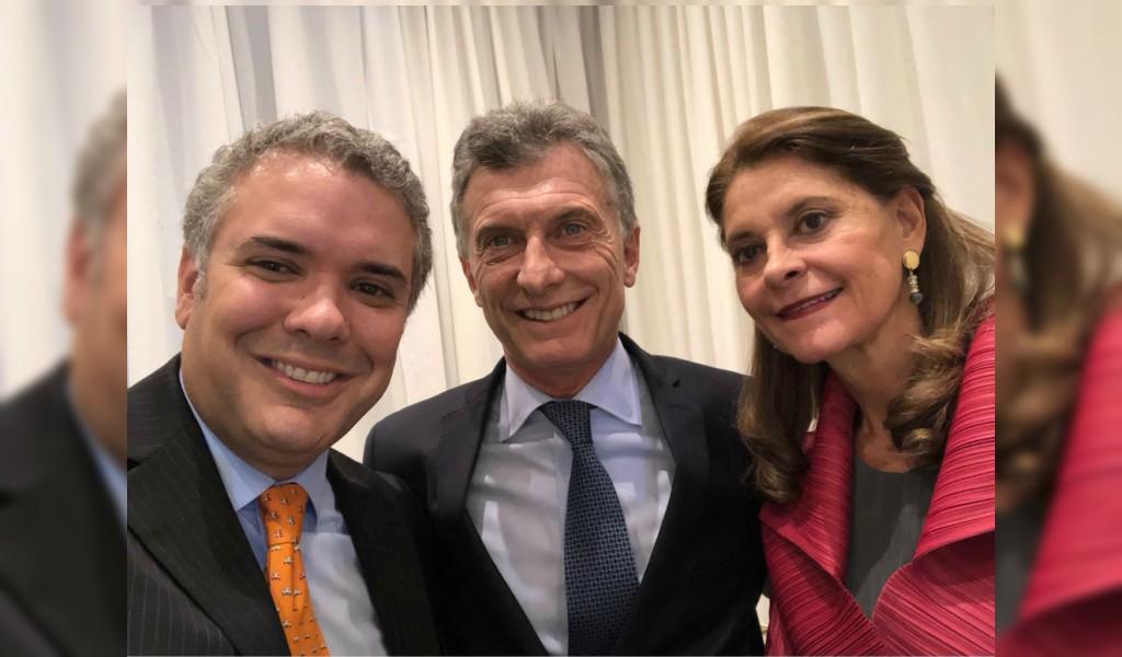 ¿Qué hace Iván Duque en Argentina?
