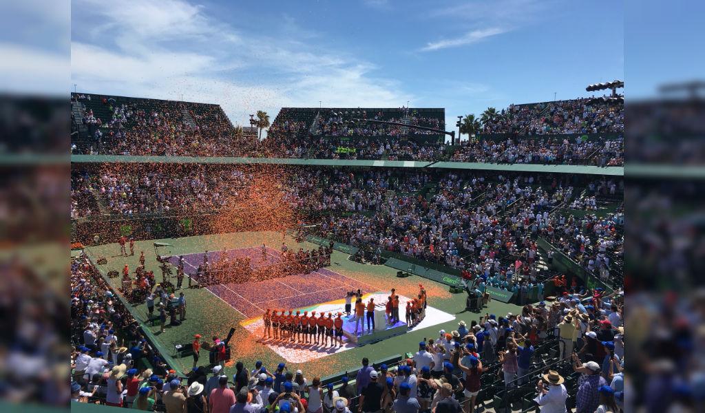 La rumba del tenis en Miami