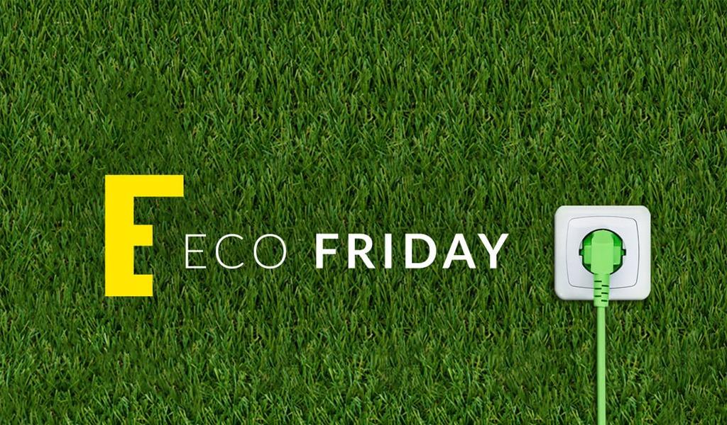 Súmese al Ecofriday, una iniciativa amigable con el ambiente