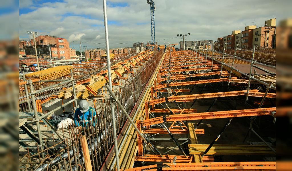"""Obras en Bogotá aumentaron 53,4%"": Peñalosa"
