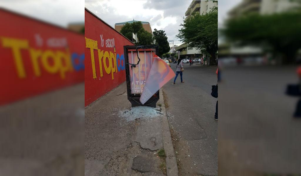 Campaña de Vargas Lleras víctima de ataques