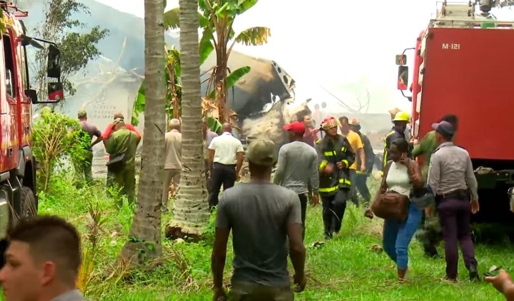 Se cae avión de Cubana de Aviación con 104 pasajeros
