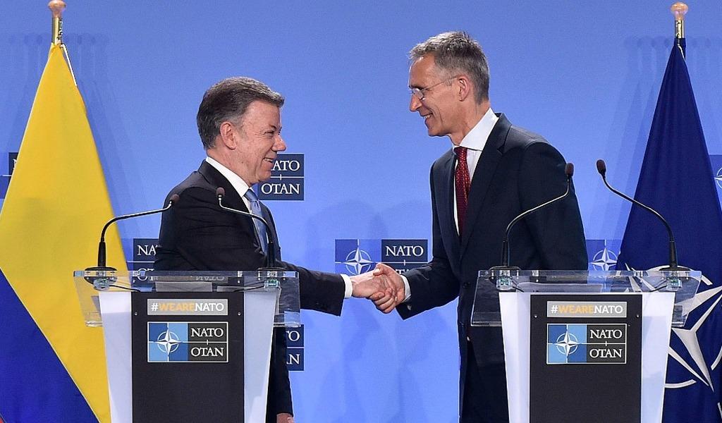 Santos firmó la alianza de Colombia con la OTAN