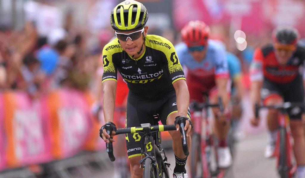 Esteban Chaves Giro de Italia