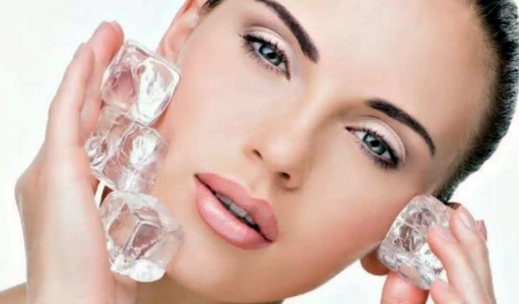 Beneficios del hielo para el cuidado de la piel