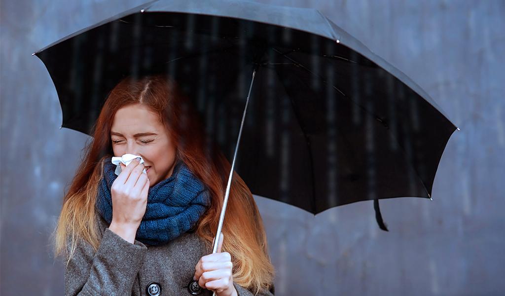 ¡Cuidado! La influenza acecha en temporada de lluvias