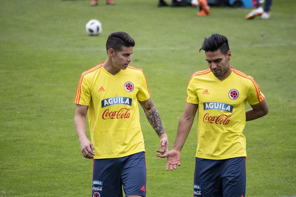 Selección Colombia Falcao García James Rodríguez