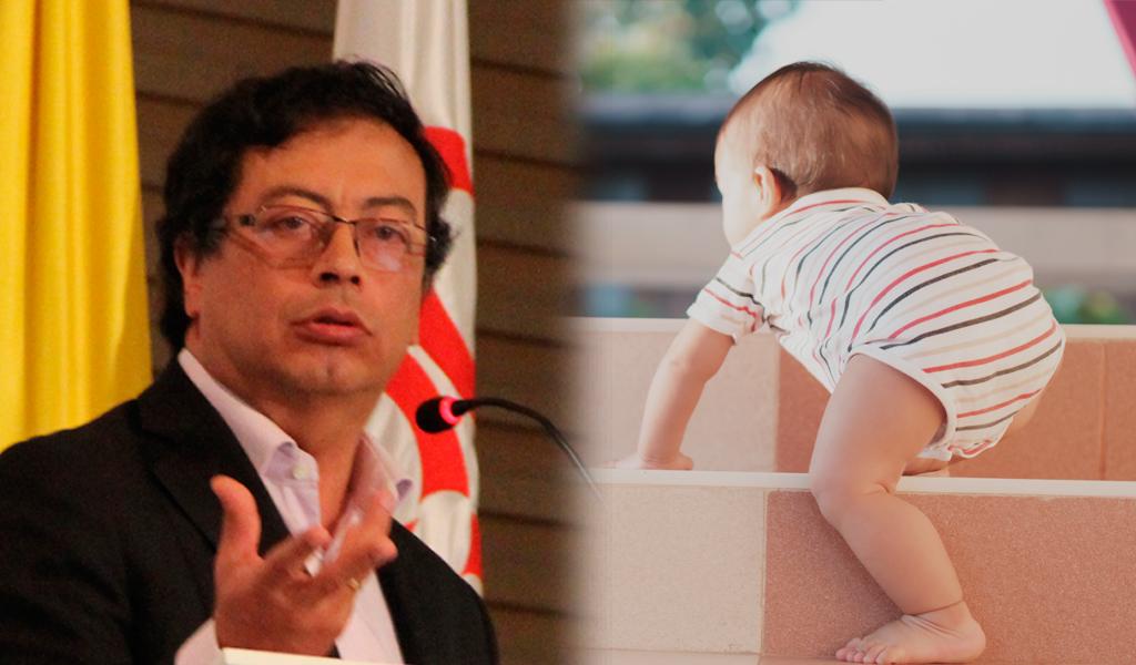 Seguidora nombró a su hijo Gustavo Petro Jiménez