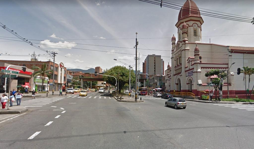 Policía frustra robo a sucursal bancaria en Medellín