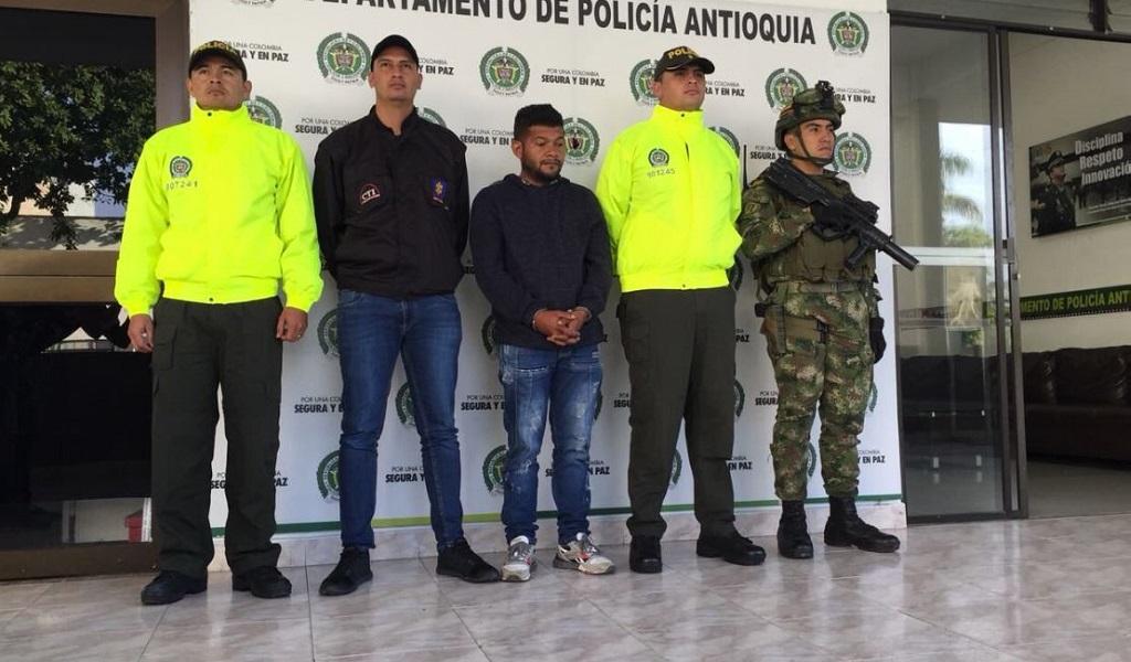 Capturan presunto asesino de dos desmovilizados de las Farc