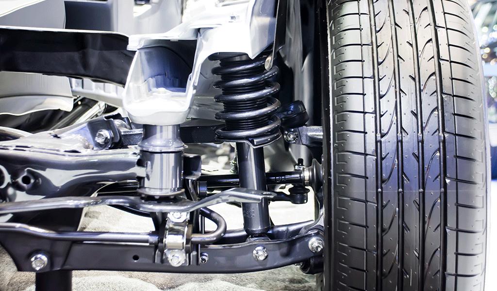 Cinco alertas para el cambio de suspensiones en carros