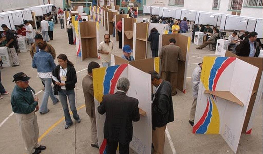 Intención de voto en Bogotá, Cali, Cartagena y Medellín