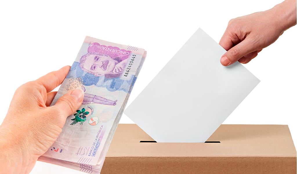 reposición de votos