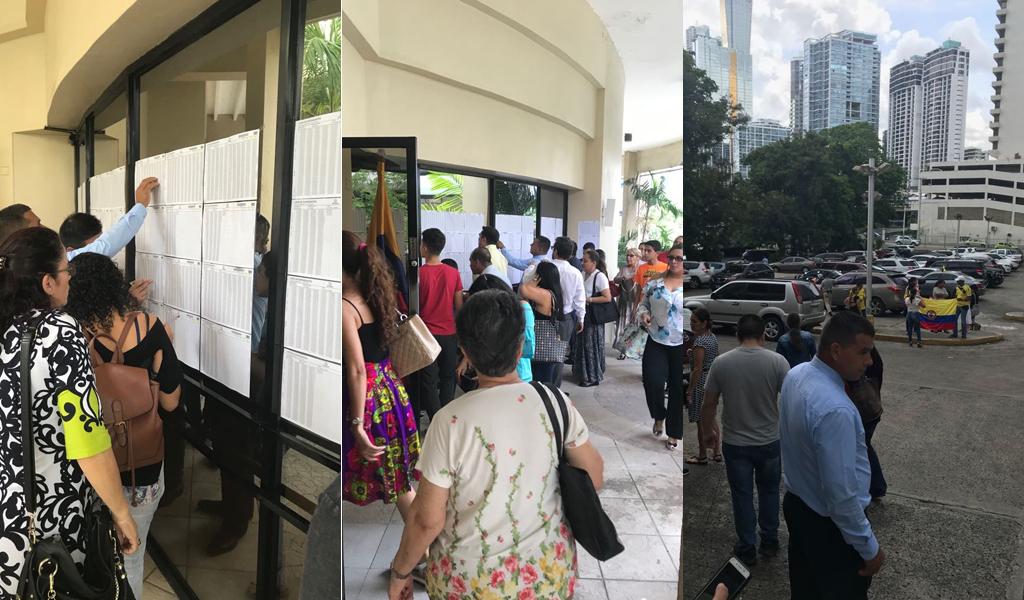 Tranquilidad en puestos de votación en el exterior