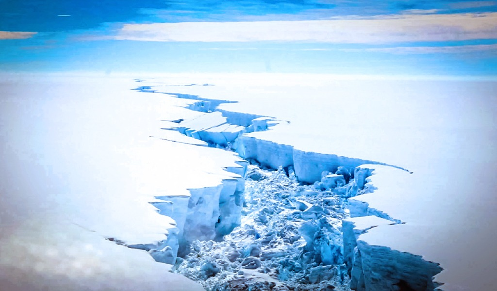 Deshielo en la Antártida y el peligroso aumento del nivel del mar