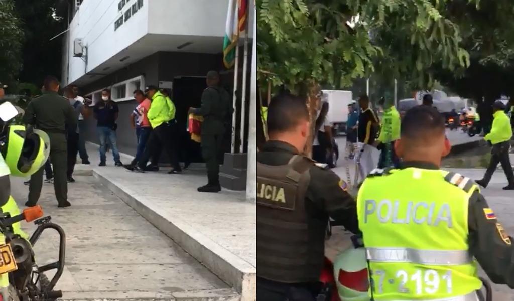Policías investigados por pérdida de droga en Barranquilla
