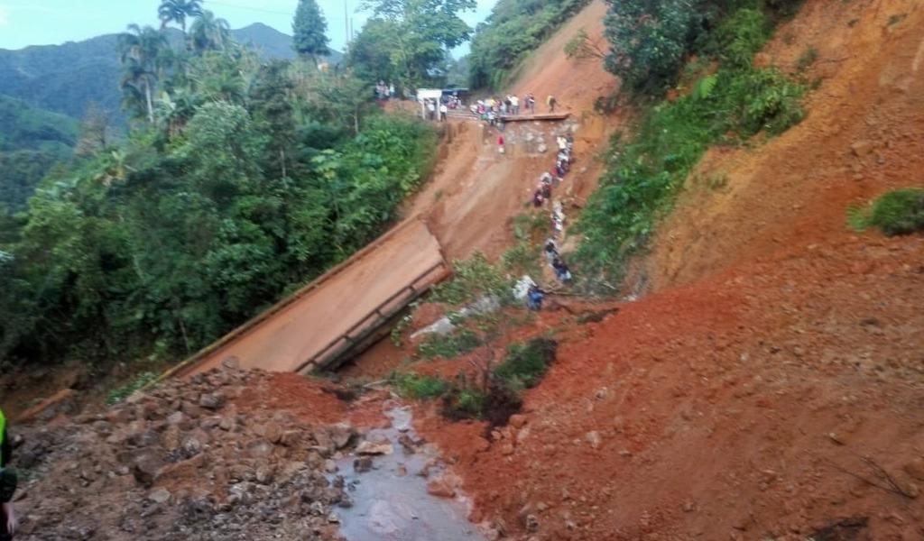 Calamidad pública en Caquetá por caída de puente
