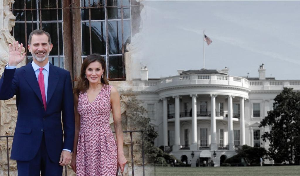 Trump recibirá a los monarcas españoles en la Casa Blanca