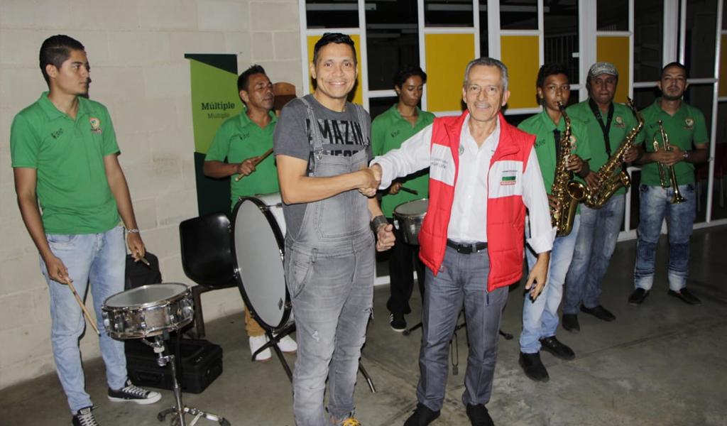Jornada de seguridad y cultura se vivió en La Pintada