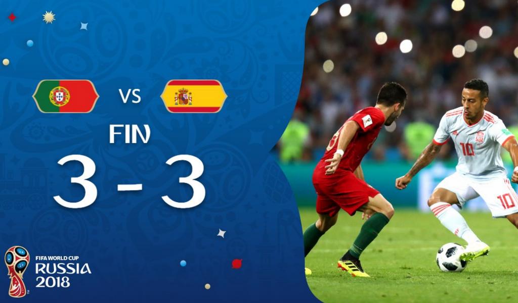 Reviva los mejores momentos del partido Portugal vs España