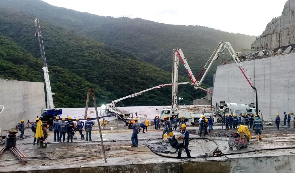 EPM termina el vertedero de Hidroituango