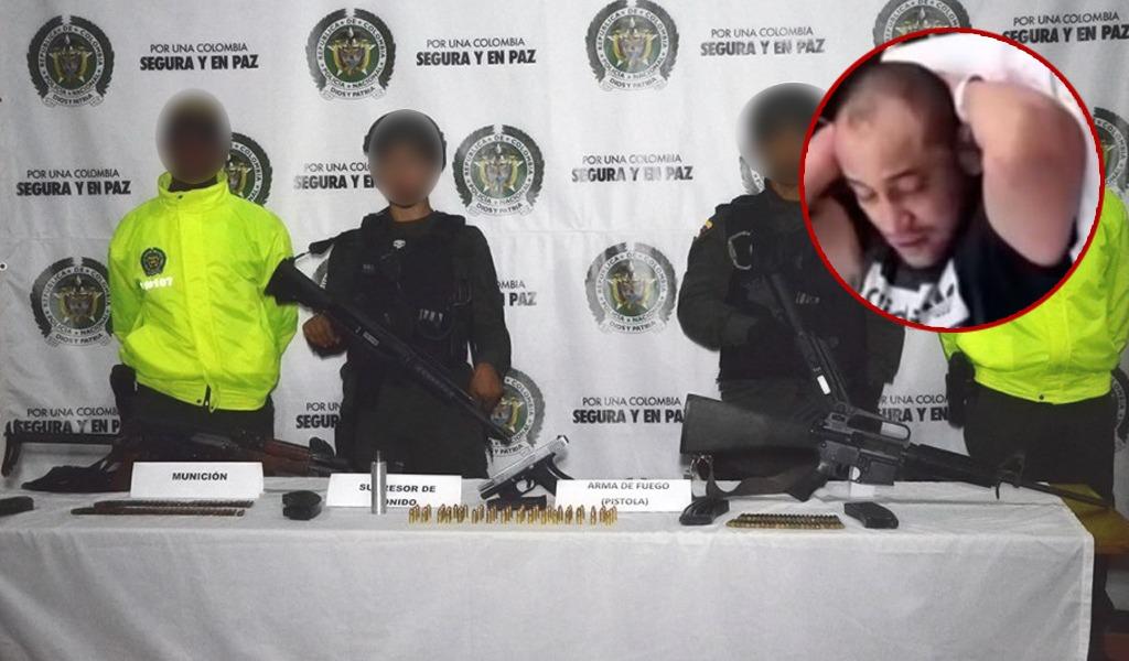 Cae hombre de confianza de 'juancito' en Medellín