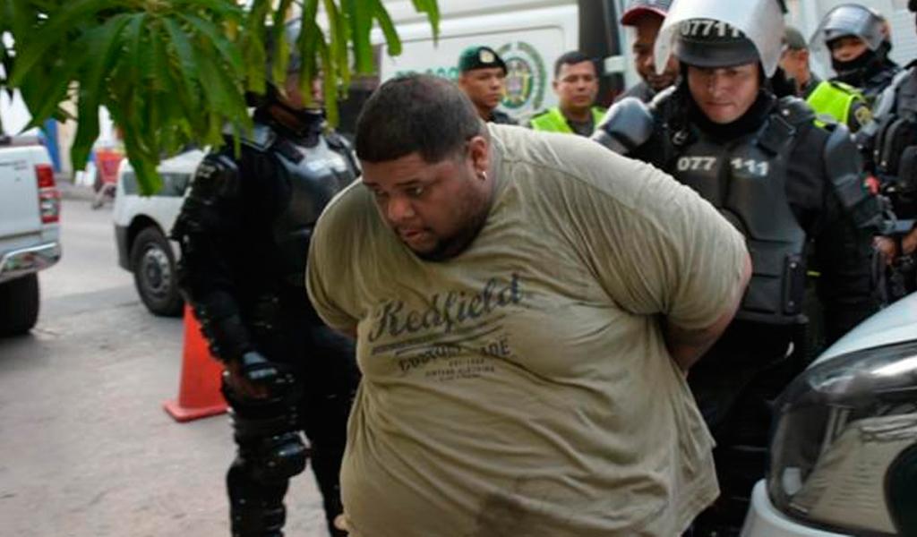 Capturan a 'Mosta Man' en operativo de Barranquilla