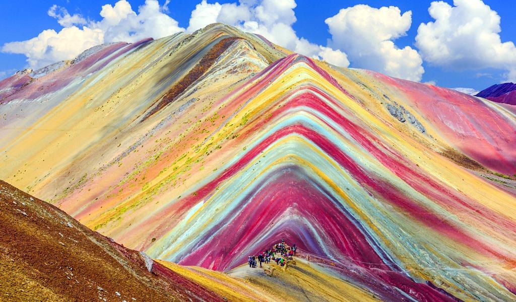 Montaña de siete colores protegida de exploración minera