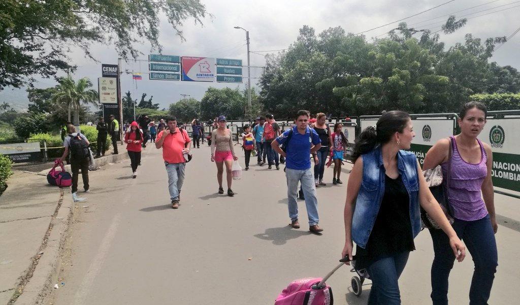 820.000 venezolanos han migrado a Colombia