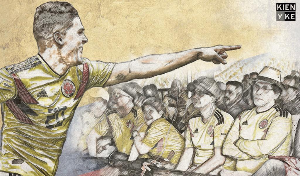 Un gol de Colombia por la reconciliación